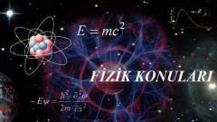 2022 YKS AYT Fizik Konuları ve Soru Dağılımı(ÖSYM-YÖK-MEB)