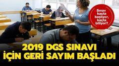 DGS sınavı ne zaman? Dikey Geçiş Sınavına kaç gün kaldı?