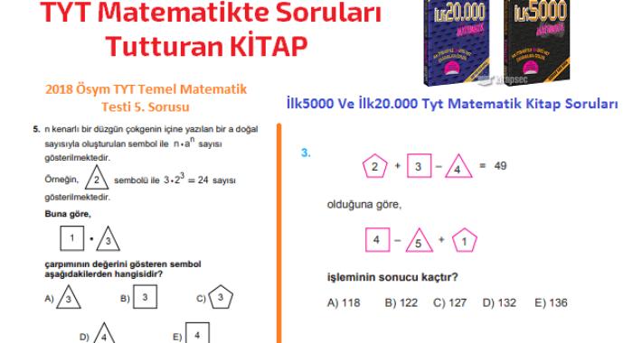 TYT Matematikte Soruları Tutturan KİTAP