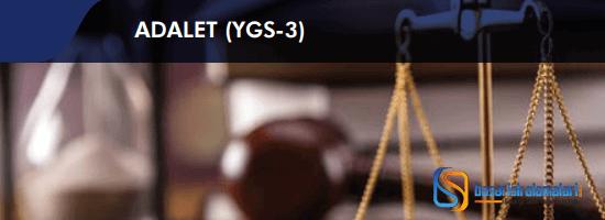 Adalet Bölümü Hakkında Bilgi