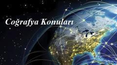 2022 YKS AYT Coğrafya 1 Konuları ve Soru Dağılımları(ÖSYM-YÖK-MEB)