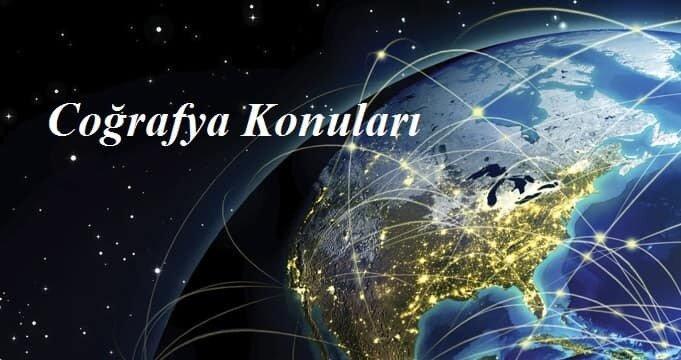 2018 YKS Coğrafya-1 Konuları ve Soru Dağılımları-(ÖSYM-YÖK-MEB)