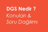 2020 DGS Konuları ve Soru Dağılımı Yeni Müfredat (ÖSYM)