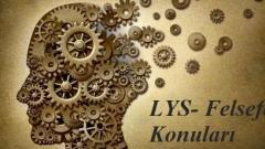 2018 Lys Felsefe Konuları Soru Dağılımı