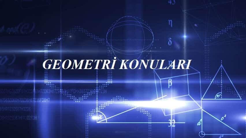 2018 TYT Geometri Konuları ve Soru Dağılımı-(ÖSYM-YÖK-MEB)