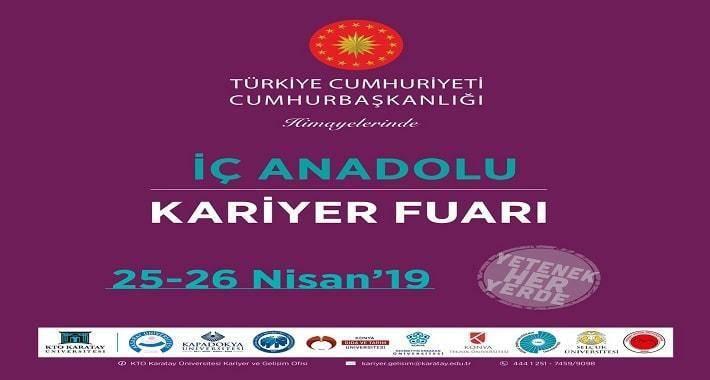 KTO Karatay, Bölgenin En Büyük Kariyer Fuarı İKAF'19'a Hazır