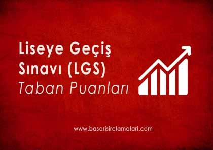 Ankara Liseleri Taban Puanları Yüzdelik Dilimleri 2018 LGS-MEB