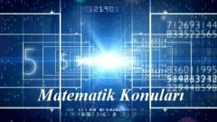 2020 TYT Matematik Konuları ve Soru Dağılımı (ÖSYM-YÖK-MEB)