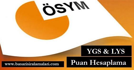 2016 LYS ve YGS Puan Hesaplama