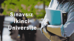 Sınavsız İkinci Üniversite Başvuru Şartları Koşulları 2018 2019