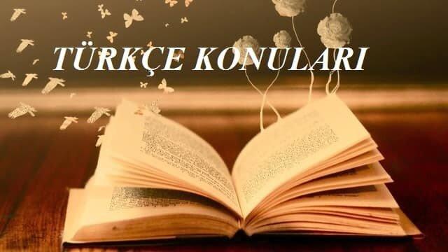 2019 TYT Türkçe Konuları ve Soru Dağılımı(ÖSYM-YÖK-MEB)
