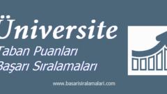 Hitit Üniversitesi 2020 Taban Puanları Başarı Sıralamaları