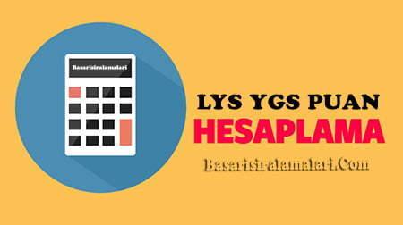 YGS Puan Hesablama